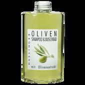 Bild: Haslinger Oliven Shampoo & Duschbad