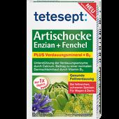 Bild: tetesept: Artischocke Enzian + Fenchel Tabletten