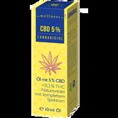 Bild: the wellness co. Cannabidiol Öl mit 5% CBD < 0,2% THC
