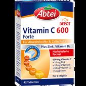 Bild: Abtei Vitamin C 600 forte plus Tabletten