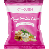 Bild: GYMQUEEN Queen Protein Chips Sour Cream & Onion