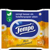Bild: Tempo Feuchte Toilettentücher Mein Verwöhnmoment Calendula & Kamille