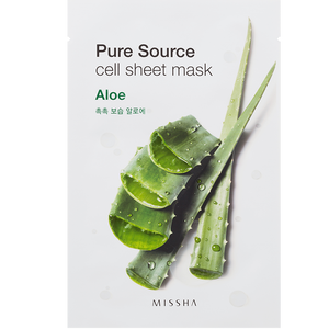 Bild: MISSHA Pure Source Cell Aloe Tuchmaske