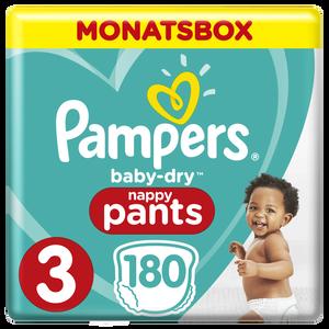 Bild: Pampers Baby Dry Pants Gr.3 Midi 6-11kg MonatsBox