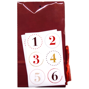 Bild: Adventkalender Papiertüten