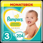 Bild: Pampers Premium Protection Gr.3 Midi 6-10kg MonatsBox