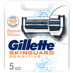Bild: Gillette Skinguard Sensitive Rasierklingen