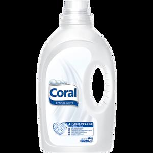 Bild: Coral Flüssigwaschmittel Optimal White