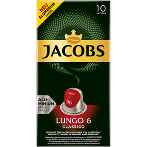 Bild: JACOBS Kaffeekapseln Lungo 6 Classico