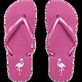 Bild: LOOK BY BIPA Flip Flop pink mit Flamingo