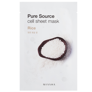 Bild: MISSHA Pure Sourse Cell Rice Tuchmaske