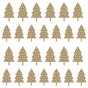 Bild: Servietten goldener Tannenbaum
