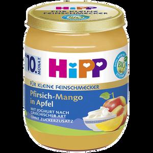 Bild: HiPP Für kleine Feinschmecker Pfirsich-Mango in Apfel mit Joghurt