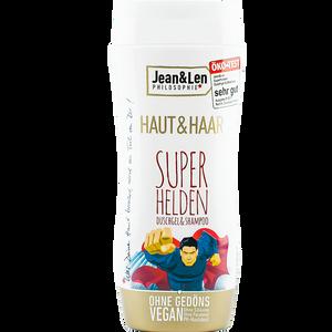 Bild: Jean&Len Haut&Haar Superhelden Duschgel&Shampoo