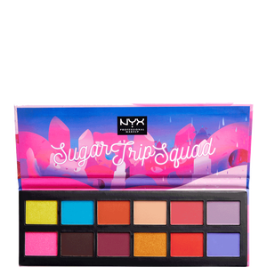 Bild: NYX Professional Make-up Sugar Trip Squad Eye Shadow Palette