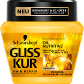 Bild: Schwarzkopf GLISS KUR Oil Nutritive Anti-Spliss-Kur