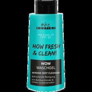Bild: b.e. ROUTINE Wow Waschgel Intense Deep Cleanser
