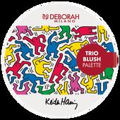 Bild: DEBORAH MILANO Keith Haring Blush Palette
