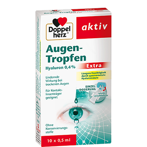 Bild: DOPPELHERZ Augen Tropfen Hyaluron 0.4 % Extra