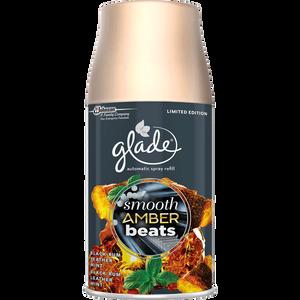 Bild: Glade by Brise Automatic Spray Smooth Amber Beats Limited Edition Nachfüllung