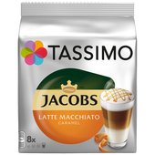 Bild: Tassimo Jacobs Latte Macchiato Caramel