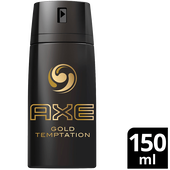 Bild: AXE Gold Temptation Bodyspray