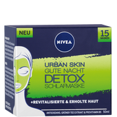 Bild: NIVEA Urban Skin Gute Nacht DETOX Schlafmaske