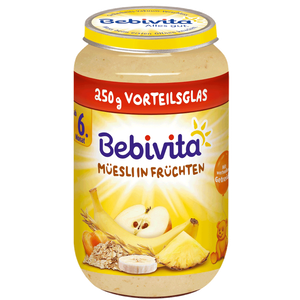 Bild: Bebivita Müsli in Früchten