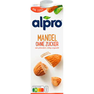Bild: alpro soya Mandel Drink ungesüsst