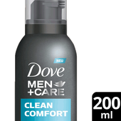 Bild: Dove MEN+CARE Duschschaum Clean Comfort 3-in-1
