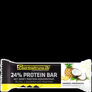 Bild: Sportnahrung.de 24% Protein Riegel Ananas-Kokosnuss