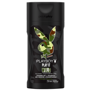 Bild: Playboy Play it Wild for him Shower Gel & Shampoo