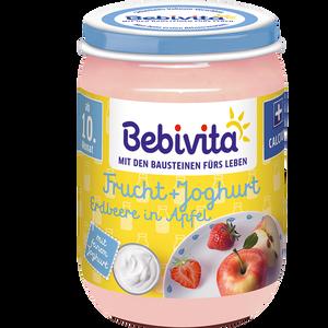 Bild: Bebivita Erdbeere in Apfel