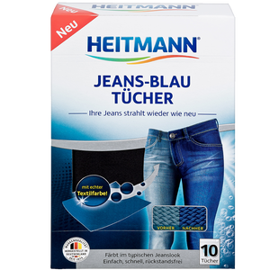 Bild: HEITMANN Jeans-Blau-Tücher