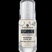 Bild: essence Prime & Last Iluminating Primer Gel