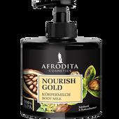 Bild: AFRODITA Cosmetics Nourish Gold Körpermilch