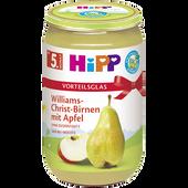 Bild: HiPP Williams-Christ-Birne mit Apfel