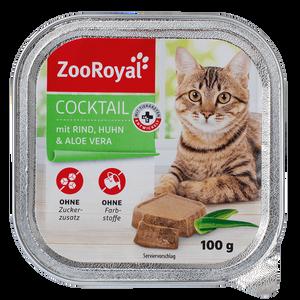 Bild: ZooRoyal Cocktail mit Rind, Huhn & Aloe Vera