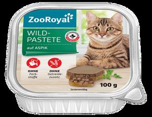 Bild: ZooRoyal Wild Pastete auf Aspik