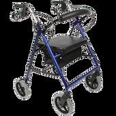 Bild: FRÜHWALD Rollmobil mit Sitz- und Rückenlehne