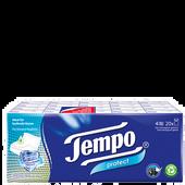Bild: Tempo Taschentücher Protect mit anitbakteriellem Wirkstoff