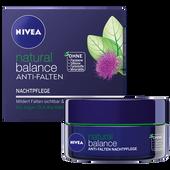 Bild: NIVEA natural balance Anti-Falten Nachtpflege