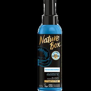 Bild: Nature Box Feuchtigkeitsspray Kokosnuss-Öl