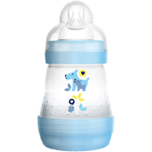 Bild: MAM Easy Start Anti-Colic 160ml Time for Love - Babyflasche Blau