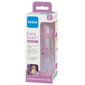 Bild: MAM Easy Start Anti-Colic 260ml Time for Love - Babyflasche Rosa