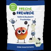 Bild: Freche Freunde Fruchtchips Apfel Blaubeere