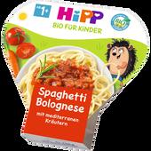 Bild: HiPP Kinder Bio-Pasta Spaghetti Bolognese