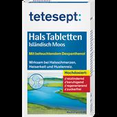 Bild: tetesept: Hals Tabletten Isländisch Moos