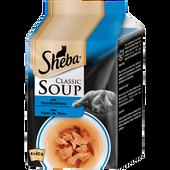 Bild: Sheba Classic Soup mit Thunfischfilets