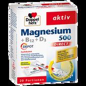 Bild: DOPPELHERZ Magnesium 500 + B12 + D3
